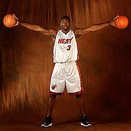 NBA's Dwyane Wade of the Miami Heat.