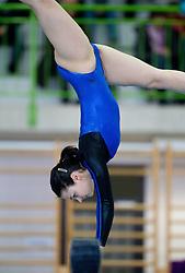 Carmen Horvat during Slovenian Artistic Gymnastics National Chapionship 2011, on November 20, 2011 in GIB Arena, Ljubljana, Slovenia. (Photo By Vid Ponikvar / Sportida.com)