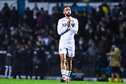 Kemar Roofe of Leeds United (7) claps the fans after the EFL Sky Bet Championship match between Leeds United and Bristol City at Elland Road, Leeds, England on 24 November 2018.