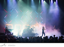 The Jezabels performing live at Sydney Opera House, on Tuesday 29 April 2014.