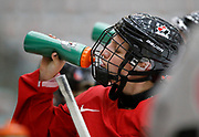 The Canadian Olympic Women's Hockey Team trains at WinSport in Calgary, Alberta on October 2nd, 2017.