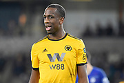 Wolverhampton Wanderers defender Willy Boly (15) during the Premier League match between Wolverhampton Wanderers and Chelsea at Molineux, Wolverhampton, England on 5 December 2018.
