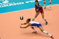10-08-2014 NED: FIVB Grand Prix Belgie - Puerto Rico, Doetinchem<br /> Aurea Cruz