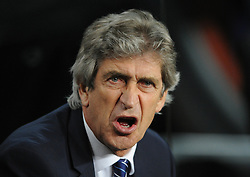 Manchester City Manager, Manuel Pellegrini - Photo mandatory by-line: Dougie Allward/JMP - Mobile: 07966 386802 - 18/03/2015 - SPORT - Football - Barcelona - Nou Camp - Barcelona v Manchester City - UEFA Champions League - Round 16 - Second Leg