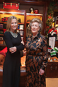 INDIA HICKS; LADY PAMELA HICKS, Book launch for ' Daughter of Empire - Life as a Mountbatten' by Lady Pamela Hicks. Ralph Lauren, 1 New Bond St. London. 12 November 2012.