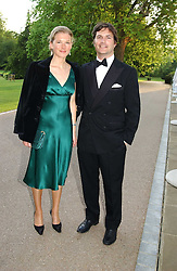 TOM & DAVINA BARBER she was Davina Duckworth-Chad, a friend of Prince William's at the Game Conservancy Jubilee Ball in aid of the Game Conservancy Trust held at The Hurlingham Club, London SW6 on 26th May 2005<br /><br />NON EXCLUSIVE - WORLD RIGHTS