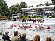 Henley Royal Regatta, Henley on Thames, Oxfordshire, 28 June - 2 July 2017.  Wednesday  16:12:34   28/06/2017  [Mandatory Credit/Intersport Images]<br /> <br /> Rowing, Henley Reach, Henley Royal Regatta.<br /> <br /> The Thames Challenge Cup<br /> The Tideway Scullers' School