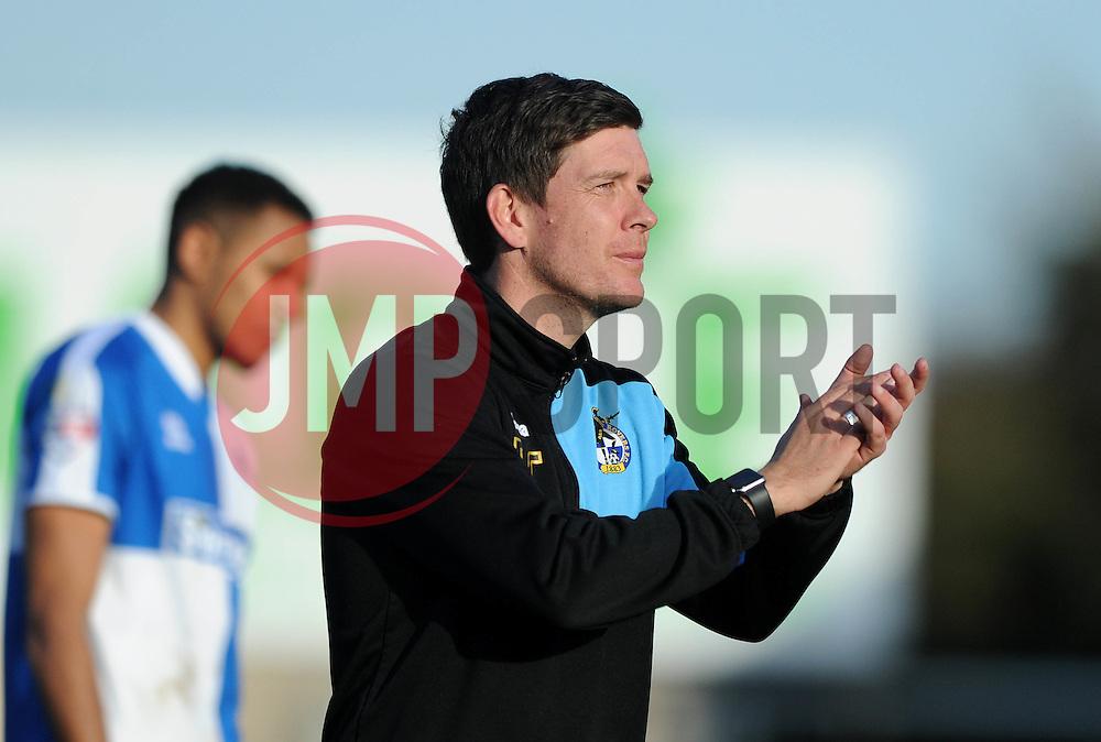 Bristol Rovers Manager Darrell Clarke - Mandatory by-line: Dougie Allward/JMP - Mobile: 07966 386802 - 25/03/2016 - FOOTBALL - Memorial Stadium - Bristol, England - Bristol Rovers v Cambridge United - Sky Bet League Two