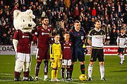Pre match build up during the Scottish Cup fourth round match between Heart of Midlothian and Aberdeen at Tynecastle Stadium, Gorgie, Scotland on 9 January 2016. Photo by Craig McAllister.