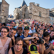 The Automobile Club l'Ouest hosts the 2017 24 Hours of Le Mans race at the famous track in the Sarthe region of France. A combination of racing circuit and public roads, the Le Mans track is a test for drivers, cars and crews.
