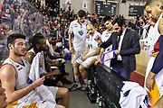 DESCRIZIONE : Campionato 2014/15 Virtus Acea Roma - Umana Reyer Venezia<br /> GIOCATORE : Federico Fuca<br /> CATEGORIA : Allenatore Coach Time Out<br /> SQUADRA : Virtus Acea Roma<br /> EVENTO : LegaBasket Serie A Beko 2014/2015<br /> GARA : Virtus Acea Roma - Umana Reyer Venezia<br /> DATA : 01/02/2015<br /> SPORT : Pallacanestro <br /> AUTORE : Agenzia Ciamillo-Castoria/GiulioCiamillo<br /> Predefinita :