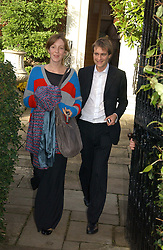 BEN & KATE GOLDSMITH  at the wedding of Lucy Ferry to Robin Birley held at Ormsby Lodge, Ham Gate Avenue, Ham, Surrey on 26th October 2006.<br />