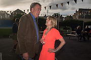 JEREMY CLARKSON; RACHEL JOHNSON Rachel Johnson book launch of Fresh Hell, Acklam Village Market, Acklam Rd. London W10.