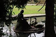"Maidenhead, United Kingdom.  General View, ""Maiden with Swans"" by Eunice Goodman. Raymill Island banks of the River Thames. <br /> <br /> Friday  03/02/2017 <br /> <br /> © Peter SPURRIER,<br /> <br /> Leica Camera AG  LEICA M (Typ 262)  1/125 sec.  mm 3.4 400 ISO.  24.8MB"