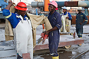 6 November 2008, Chingola, Copperbelt, ZAMBIA. Sam Equamo, Communications Advisor of Konkola Copper Mines plc. The largest copper smelter in Africa recently went into production and along with the installation of a new winder to access copper up to 1600 metres under the surface, brings their recent investment to USD 1.2 billion.