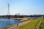 Nederland, Noord-Brabant, Gemeente Bergen op Zoom, 17-03-2016; Zoommeer.<br /> <br /> <br /> copyright foto/photo Siebe Swart