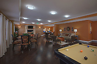 MD architectual interior image of the Village at Odenton Station Apartments built by Lend Lease, photography by Jeffrey Sauers of Commercial Photographics