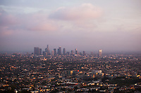 Downtown Los Angeles View from Griffith Observatory, California