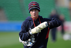 Lancashire's Alex Davies- Photo mandatory by-line: Harry Trump/JMP - Mobile: 07966 386802 - 08/04/15 - SPORT - CRICKET - Pre Season - Somerset v Lancashire - Day 2 - The County Ground, Taunton, England.