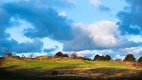 ZANDVOORT - A holes Hole 3, par 3.  Kennemer Golf Club. COPYRIGHT KOEN SUYK