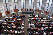 Ohio Board of Regents Chancellor Eric Fingerhut address the Ohio University community at 1:30 p.m. today in the Walter Hall Rotunda.......Article before:..Sept. 26, 2007.Interview by Mary Reed..Ohio Board of Regents Chancellor Eric Fingerhut will address the Ohio University community at 1:30 p.m. today in the Walter Hall Rotunda to discuss his vision for the University System of Ohio and important changes it could bring. Outlook interviewed Fingerhut by phone Tuesday afternoon in advance of today's address and offers this Q&A...Address viewable online.Individuals on Ohio University's regional campuses and others also may view Wednesday's 1:30 p.m. address online. It will be streamed live at http://streaming.cns.ohiou.edu/.ChancellorFingerhut...What is the University System of Ohio?..The University System of Ohio is all of the public colleges and universities in the state of Ohio working together to provide a world-class higher education for all of the citizens of the state and to help drive the economy of the state to help create the innovations and job opportunities of tomorrow...What's your vision for the University System of Ohio?..Our vision is that we will have for this state a world-class system of higher education that makes us globally competitive and gives our citizens the opportunities they need to succeed. We believe that no single institution can provide all things that Ohio needs to compete -- but all of our institutions can. It would be impossible to create global expertise in every subject matter, but we believe statewide that working together we can be world-class in all of the areas that are necessary to compete...What are the areas necessary to compete?..We need to be technologically and scientifically advanced. We need to be aware of the cultures of the globe and languages of the globe. We need students who are prepared to think innovatively and entrepreneurially...It sounds like collaboration is the key...We're not competing against each other; w