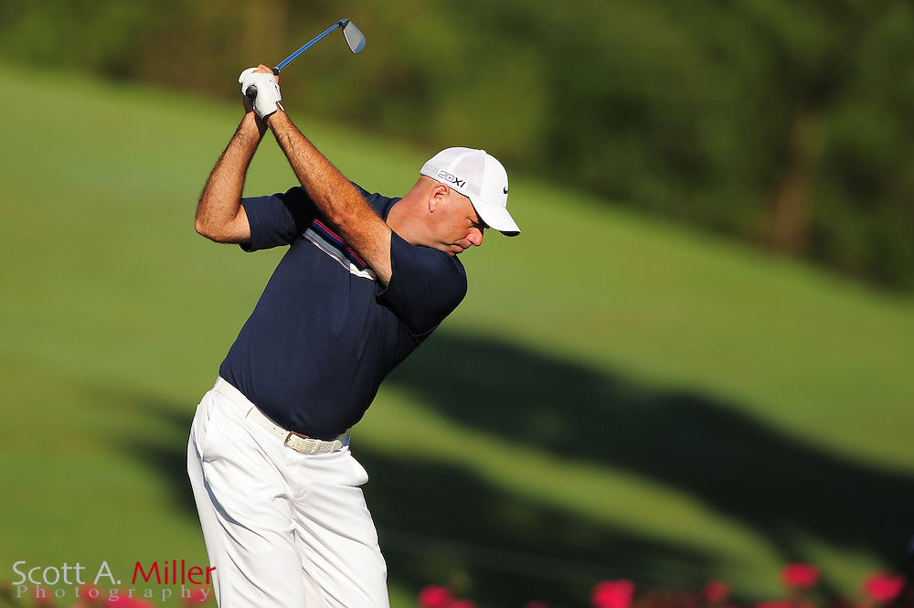 Stewart Cink during the second round of the Players Championship at the TPC Sawgrass on May 11, 2012 in Ponte Vedra, Fla. ..©2012 Scott A. Miller..