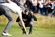Matthew Fitzpatrick Rory McIlroy<br /> <br /> The British Masters 2017<br /> Close House<br /> Uk<br /> Picture Credit: Mark Newcombe/visionsingolf.com