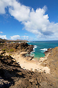 Halona Beach;  aka From Here to Eternity Beach, Oahu, Hawaii