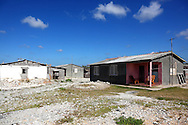 Houses in La Bajada, Pinar del Rio, Cuba.