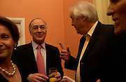 Michael Howard and Sir Tim Rice. andrew Roberts and Leonie Frieda celebrate the publication of Andrew's 'Waterloo: Napoleon's Last Gamble' and the paperback of Leonie's 'Catherine de Medic'i. English-Speaking Union, Dartmouth House. London. 8 February 2005. ONE TIME USE ONLY - DO NOT ARCHIVE  © Copyright Photograph by Dafydd Jones 66 Stockwell Park Rd. London SW9 0DA Tel 020 7733 0108 www.dafjones.com