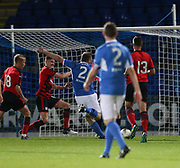 06/10/2017 - St Johnstone v Dundee - Dave Mackay testimonial at McDiarmid Park, Perth, Picture by David Young - Roddy Grant scores