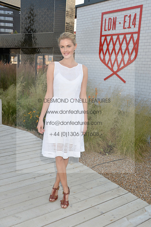 DONNA AIR at a reception hosted by Eco World Ballymore and the English National Ballet to celebrate their partnership at London City Island, Orchard Place, London E14 on 1st July 2015