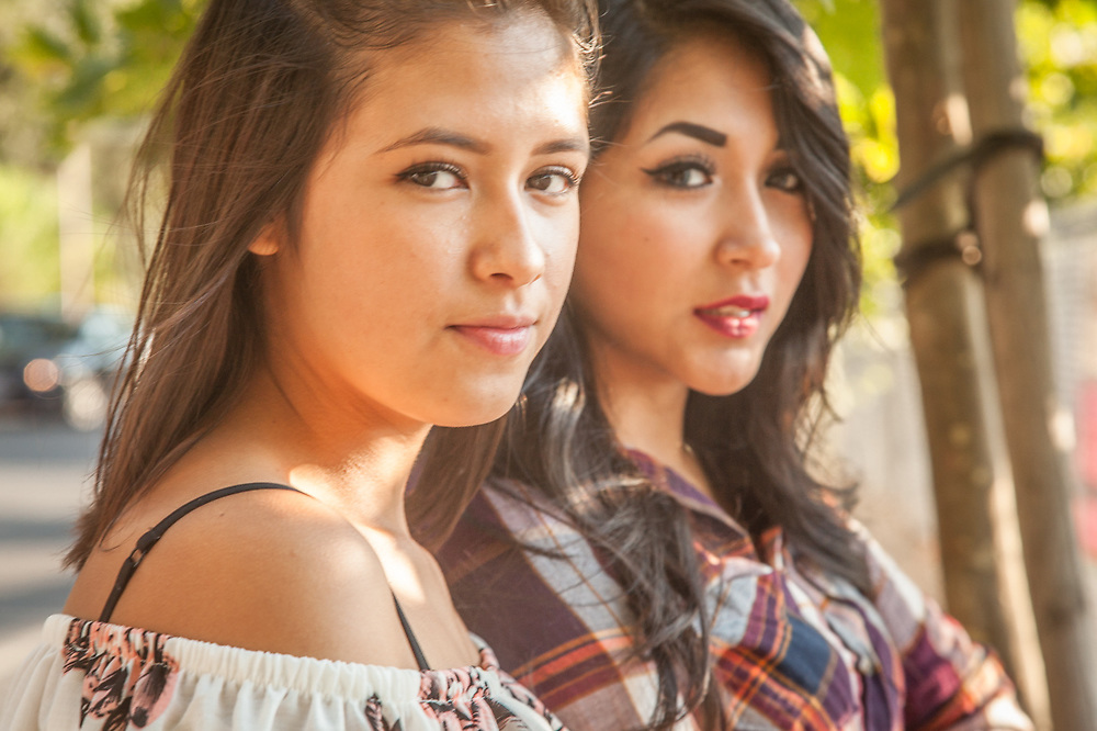 Ximena Sanchez  and Sarahi Reyes, Calistoga