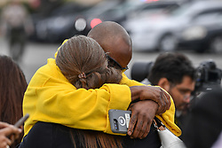 General views from Calabasas of the scenes surrounding the death of Kobe Bryant and his daughter Gianna Maria-Onore Bryant due to a helicopter crash NON-EXCLUSIVE Jan 26, 2020. 26 Jan 2020 Pictured: Kobe Bryant. Photo credit: PG/BauerGriffin.com / MEGA TheMegaAgency.com +1 888 505 6342