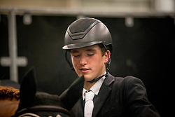 Philippaerts Anthony, BEL, All Right Du Genet<br /> Jumping Indoor Maastricht 2018<br /> © Hippo Foto - Sharon Vandeput<br /> 25/11/18