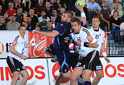 Matjaz Mlakar of Slovenia at qualification match for  Euro 2010 in Austria between national teams of Slovenia and Germany, Group 5, on November 2, 2008 in Arena Zlatorog, Celje, Slovenia. (Photo by Vid Ponikvar / Sportal Images)/ Sportida