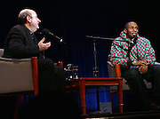 Mos Def in Conversation with Anthony DeCurtis in the Kaufman Concert Hall at The 92 Street Y on thursday February 28, 2008..Regarded as one of hip-hop's most insightful artists, Mos Def has shaped a career that transcends genres. His groundbreaking collaboration with fellow rapper Talib Kweli in Black Star; his distinctive and daring solo work, and his acting, both in film and theater, have earned him Grammy, Emmy, Golden Globe and NAACP Image Award nominations. Add to that his activism, most recently in the Jena six case, and you have a portrait of an artist fully engaged with the issues of his times. Mos Def discusses his music, his acting, his social and political perspective, and his vision of the role that artists must play in the public world. Anthony DeCurtis is a contributing editor for Rolling Stone and the author of In Other Words: Artists Talk About Life and Work..