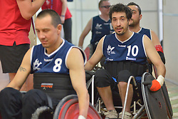 USA V France at the 2016 IWRF Rio Qualifiers, Paris, France