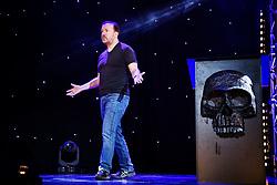 July 1, 2017 - Stockholm, Sweden - Ricky Gervais uppträder i Globen, Stockholm (Credit Image: © Aftonbladet/IBL via ZUMA Wire)