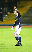 IRN BRU Scottish League First Division<br /> Dens Park, Dundee 08/12/2007<br /> Kevin McDonald celebrates his goal in Dundee's 3-0 win over Stirling at Dens