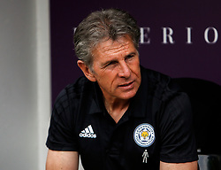 Leicester City manager Claude Puel - Mandatory by-line: Ryan Crockett/JMP - 21/07/2018 - FOOTBALL - Meadow Lane - Nottingham, England - Notts County v Leicester City - Pre-season friendly