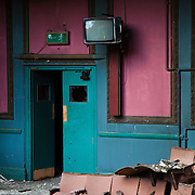 Derelict theatre, Green Lane, Derby
