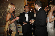 Katinka Barysch and Stelios Haji-Ioannou, Ark Gala Dinner, Marlborough House, London. 5 May 2006. ONE TIME USE ONLY - DO NOT ARCHIVE  © Copyright Photograph by Dafydd Jones 66 Stockwell Park Rd. London SW9 0DA Tel 020 7733 0108 www.dafjones.com