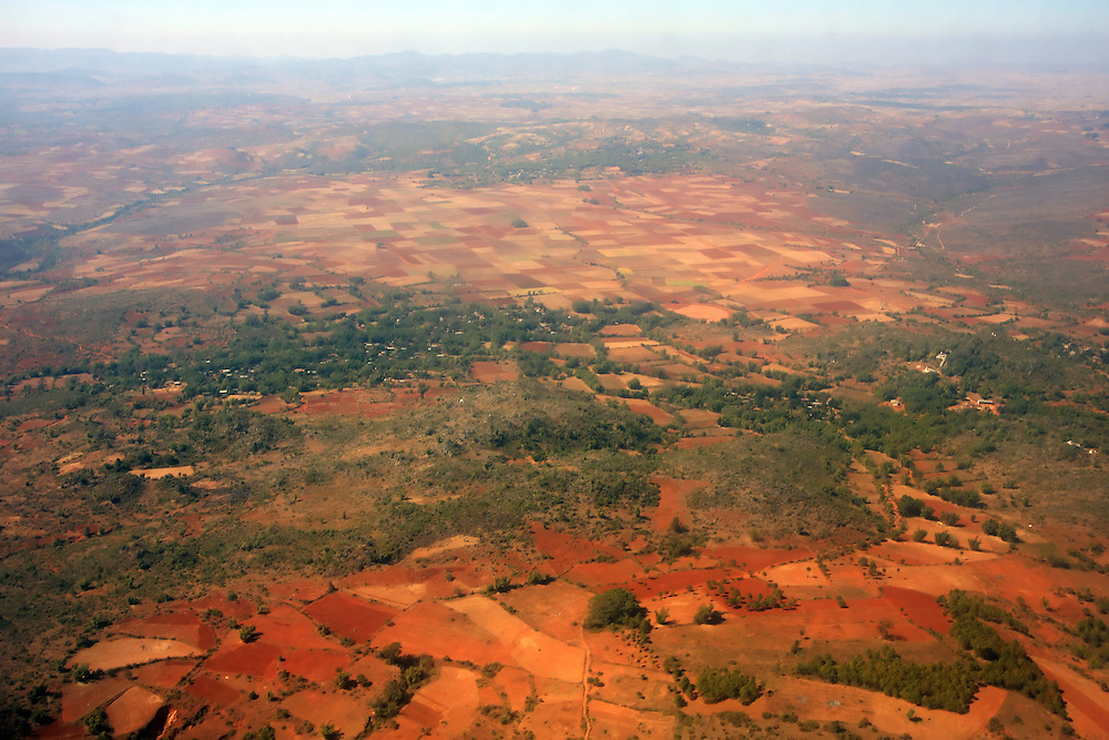 Flying in Burma.
