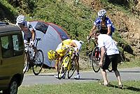 Sykkel<br /> Tour de France 2010<br /> 19.07.2010<br /> Foto: PhotoNews/Digitalsport<br /> NORWAY ONLY<br /> <br /> ANDY SCHLECK<br /> <br /> STAGE RIT ETAPE 15 : PAMIERS - BAGNERES-DE-LUCHON