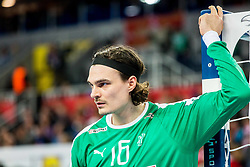 Jannick Green Krejberg (DEN) during handball match between National teams of Denmark and Sweden in Half Final match of Men's EHF EURO 2018, on January 26, 2018 in Arena Zagreb, Zagreb, Croatia. Photo by Ziga Zupan / Sportida