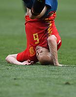 FUSSBALL  WM 2018  Achtelfinale ---- Spanien - Russland       01.07.2018 Andres Iniesta (Spanien)