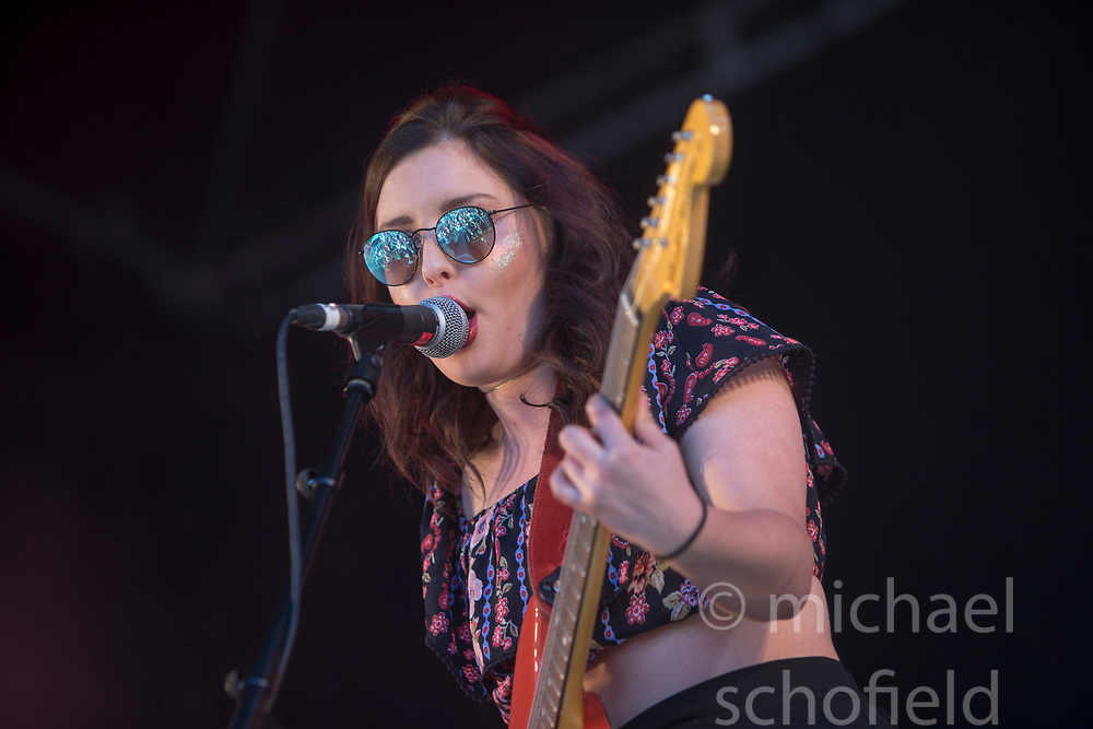 The Van T's play the King Tut's stage. Saturday at TRNSMT music festival, Glasgow Green.