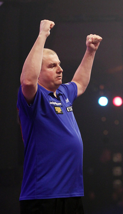 BDO WORLD CHAMPIONSHIPS 2015,RICK HOFSTRA, JIM WINMAYER, DARTS, TIPTOPPICS