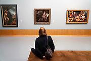 Nederland, Rotterdam, 30-12-2016In het Museum Boymans, Boijmans van Beuningen, een van nederlands oudste musea, hangen kunstwerken uit verschillende periodes.Foto: Flip Franssen